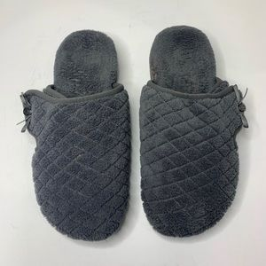 Vionic Adilyn Orphic support slippers gray size 8